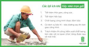 5 lợi ích khi xây nhà trọn gói