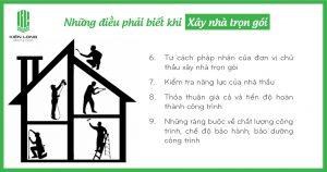 Những điều phải biết trước khi ký hợp đồng xây nhà trọn gói
