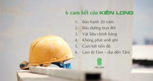 6 cam kết chỉ có tại công ty xây dựng Kiến Long