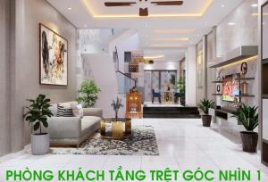 Dự án xây nhà trọn gói 4 tầng KDC Trung Sơn Quận 7