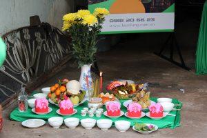 Lễ động thổ nhà cô Hồng Phạm Văn Chí Q6