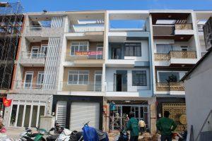 Dự án xây nhà phố 4 tầng KDC Hai Thành