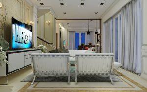 Biệt thự tân cổ điển - Phòng khách