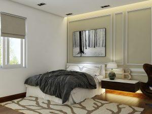 Dự án biệt thự tân cổ điển Quận 7 - Phòng ngủ