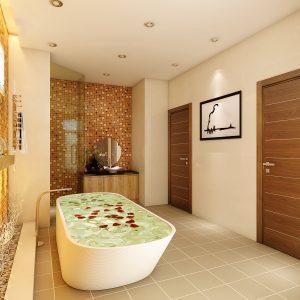 Dự án biệt thự tân cổ điển Quận 7 - Phòng tắm